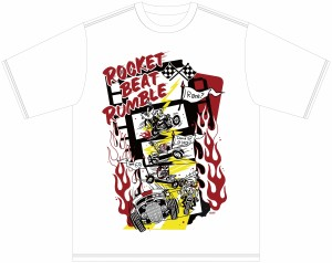 ROCKET BEAT RUMBLE2018 T-shirts